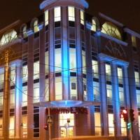 Архитектурная подсветка здания