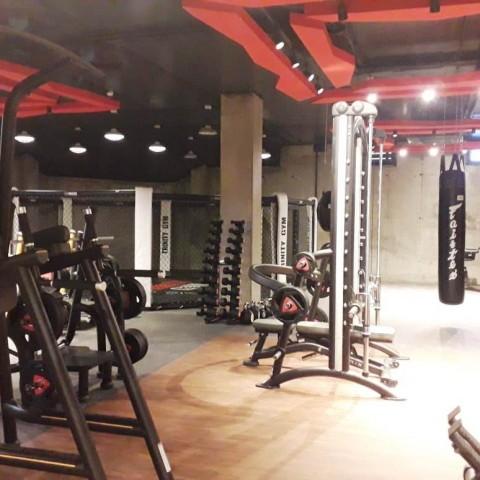 Фитнес клуб в гостинице Golden Tulip Краснодар